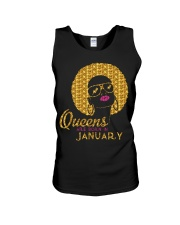 QUEENS ARE BORN IN JANUARY Unisex Tank thumbnail