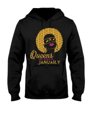 QUEENS ARE BORN IN JANUARY Hooded Sweatshirt thumbnail