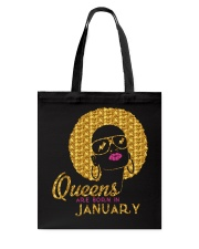 QUEENS ARE BORN IN JANUARY Tote Bag thumbnail