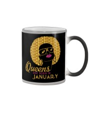 QUEENS ARE BORN IN JANUARY Color Changing Mug thumbnail