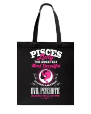 PISCES LADY - THE SWEETEST MOST BEAUTIFUL Tote Bag tile