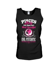 PISCES LADY - THE SWEETEST MOST BEAUTIFUL Unisex Tank thumbnail