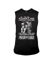 IM AN ASSHOLE MARCH GUY Sleeveless Tee thumbnail