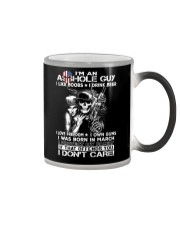 IM AN ASSHOLE MARCH GUY Color Changing Mug thumbnail