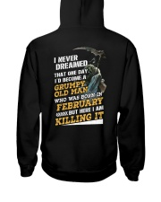 I'D BECOME A GRUMPY OLD MAN WAS BORN IN DECEMBER Hooded Sweatshirt thumbnail