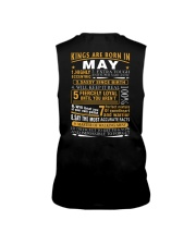 KINGS ARE BORN IN MAY Sleeveless Tee tile