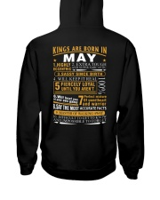 KINGS ARE BORN IN MAY Hooded Sweatshirt thumbnail
