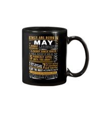 KINGS ARE BORN IN MAY Mug tile