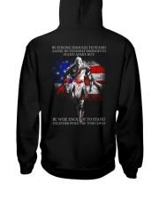 BE STRONG - WARRIOR OF CHRIST Hooded Sweatshirt thumbnail