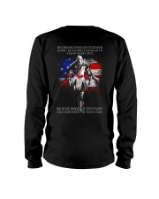 BE STRONG - WARRIOR OF CHRIST Long Sleeve Tee thumbnail