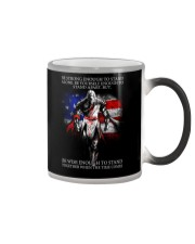 BE STRONG - WARRIOR OF CHRIST Color Changing Mug thumbnail