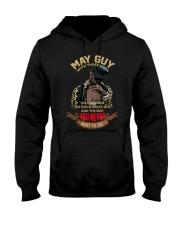 MAY GUY WITH THREE SIDES Hooded Sweatshirt thumbnail