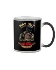 MAY GUY WITH THREE SIDES Color Changing Mug thumbnail