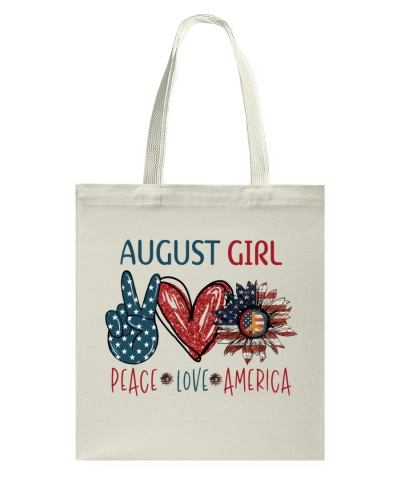 AUGUST GIRL - PEACE LOVE AMERICA