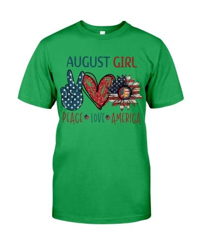 AUGUST GIRL - PEACE LOVE AMERICA