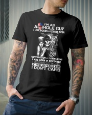 IM AN ASSHOLE NOVEMBER GUY Classic T-Shirt lifestyle-mens-crewneck-front-6