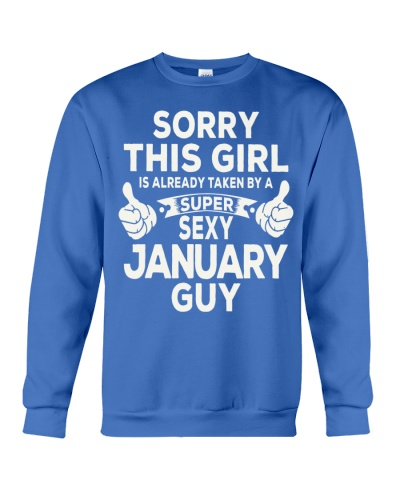 THIS GIRL IS TAKEN BY A JANUARY GUY