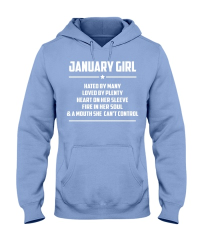 JANUARY GIRL - LIMITED EDITION