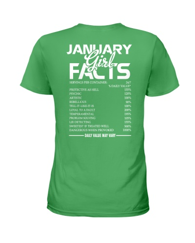 JANUARY GIRL FACTS