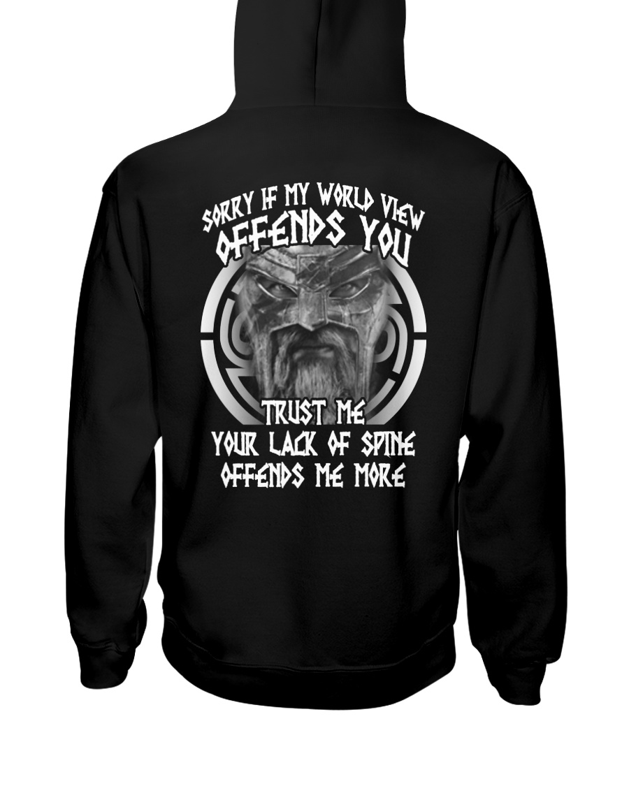 VIKINGS VALHALLA - OFFENDS YOU Hooded Sweatshirt