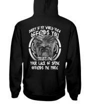 VIKINGS VALHALLA - OFFENDS YOU Hooded Sweatshirt back