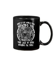 VIKINGS VALHALLA - OFFENDS YOU Mug thumbnail