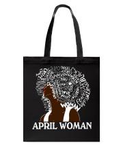 APRIL BLACK WOMAN  Tote Bag thumbnail