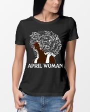 APRIL BLACK WOMAN  Ladies T-Shirt lifestyle-women-crewneck-front-10
