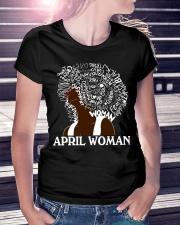 APRIL BLACK WOMAN  Ladies T-Shirt lifestyle-women-crewneck-front-7