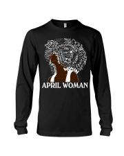 APRIL BLACK WOMAN  Long Sleeve Tee thumbnail
