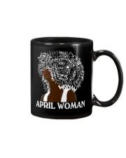 APRIL BLACK WOMAN  Mug thumbnail