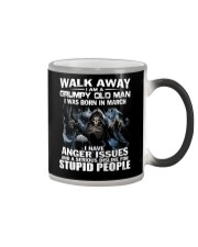 I AM A GRUMPY OLD MAN I WAS BORN IN MARCH  Color Changing Mug thumbnail