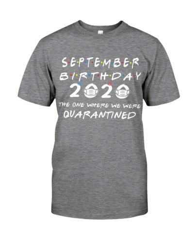 SEPTEMBER BIRTHDAY 2020 WHERE WE WERE QUARANTINED