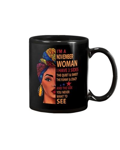 IM A NOVEMBER WOMAN - I HAVE 3 SIDES