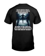 DEVIL WHISPERED - SEPTEMBER Classic T-Shirt back