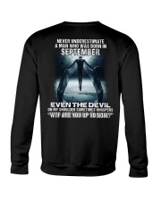 DEVIL WHISPERED - SEPTEMBER Crewneck Sweatshirt thumbnail