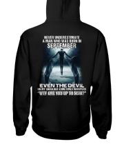 DEVIL WHISPERED - SEPTEMBER Hooded Sweatshirt thumbnail
