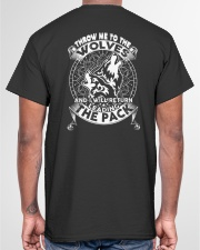 WOLVES - THROW ME TO THE WOLVES Classic T-Shirt garment-tshirt-unisex-back-04