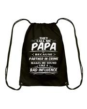 THEY CALL ME PAPA Drawstring Bag thumbnail