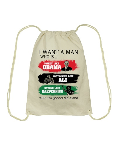 I WANT A MAN WHO IS - AFRICAN AMERICAN