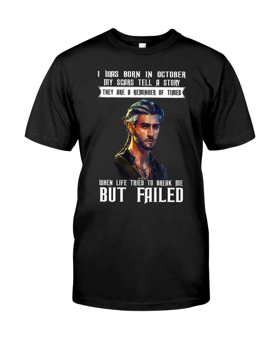 MY SCARS TELL A STORY - OCTOBER Classic T-Shirt