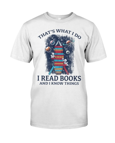THATS WHAT I DO A READ BOOKS