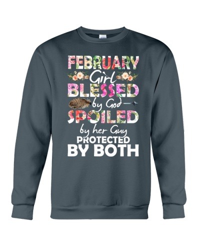 FEBRUARY GIRL BLESSED BY GOD SPOILED BY HER GUY