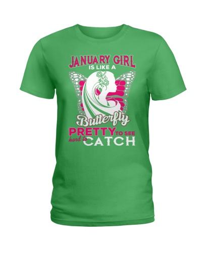 JANUARY GIRL IS LIKE BUTTERFLY