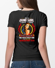 AS A JUNE GIRL Ladies T-Shirt lifestyle-women-crewneck-back-4