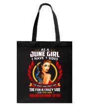 AS A JUNE GIRL Tote Bag thumbnail