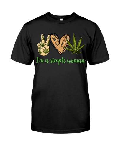 I'M A SIMPLE WOMAN - WEED