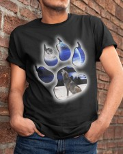 WOLVES - THE WOLF Classic T-Shirt apparel-classic-tshirt-lifestyle-26