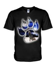 WOLVES - THE WOLF V-Neck T-Shirt thumbnail