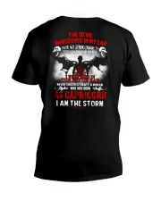 DEVIL WHISPERED - CAPRICORN V-Neck T-Shirt thumbnail